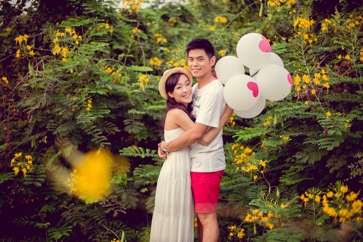 Bangkok Pre-Wedding: Stephanie and Kelvin